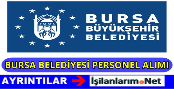 Bursa Büyükşehir Belediyesi Personel Alımı 2016