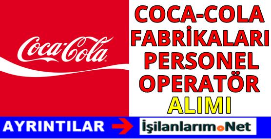 Coca Cola İçecek Personel Alımı İş İlanları 2016