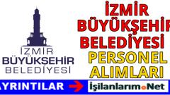 İzmir Büyükşehir Belediyesi Personel Alımı 2016