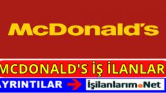 McDonald's Eleman Personel Alımı İş İlanları 2016