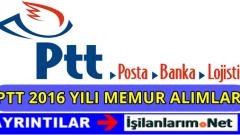 PTT 1038 Personel Alımı 2016 İş Başvurusu