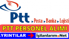 PTT Personel Eleman Alımı İş Başvurusu 2016