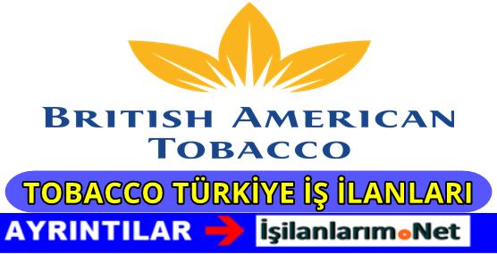 British American Tobacco Personel Alımı İş İlanları