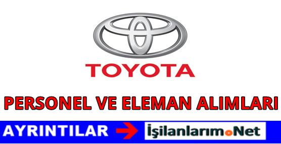 Toyota Personel Alımı 2016 İş Başvurusu