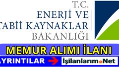 Enerji Ve Tabii Kaynaklar Bakanlığı Uzman Yardımcısı Alımı 2016