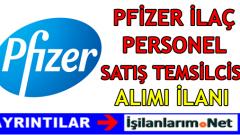 Pfizer İlaç Fabrikası İşçi Personel Alımı 2016