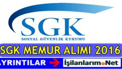 Sosyal Güvenlik Kurumu (SGK) 400 Denetmen Yardımcısı Alımı 2016