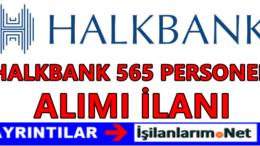 Halkbank 565 Uzman Yardımcısı Müfettiş Personel Alımı 2016