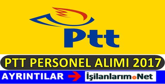 PTT Personel Alımı 2017