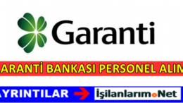 Garanti Bankası Güvenlik Görevlisi Personel Alımı 2017