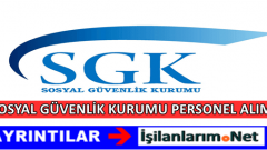 SGK 193 Personel Alımı 2017