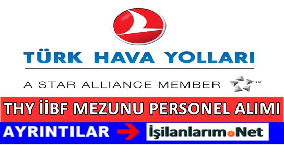 Türk Hava Yolları (THY) İİBF Mezunu Personel Alımı 2017