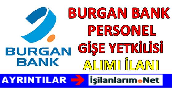 Burgan Bank Personel Alımı 2017