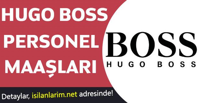 Hugo Boss İş İlanları Satış Danışmanı Personel Maaşları