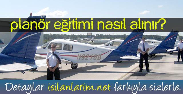 Türk Hava Kurumu Planör Kursu Eğitimi Planör Pilotu Nasıl Olunur?