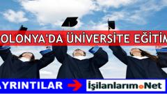 Polonya'da Eğitim Üniversite Okumak