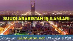 Suudi Arabistan İşçi Alımı 2017 İş İlanları