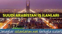 Suudi Arabistan İşçi Alımı   İş İlanları