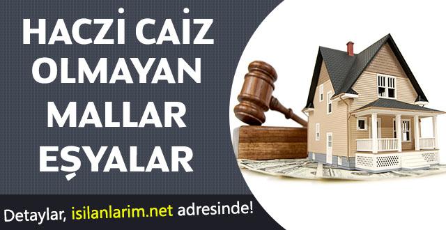 Haczi Caiz Olmayan Mallar ve Haklar Nelerdir?