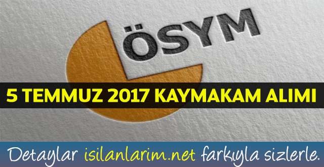 İçişleri Bakanlığı 100 Kaymakam Alımı 9 Eylül 2017 Kaymakamlık Sınavı Başvuru Zamanı Şartları