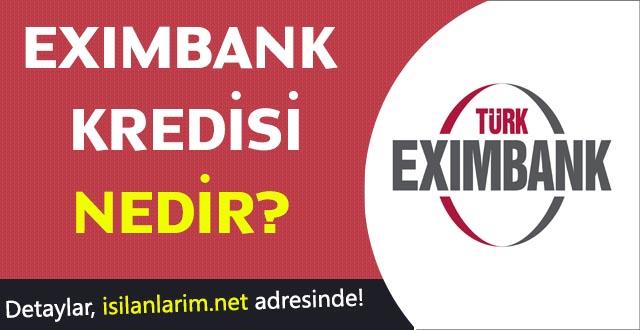 Eximbank Kredisi Nedir Nasıl Alınır?