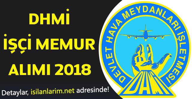 DHMİ Memuru Alımı 2018
