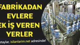 Fabrikadan Evlere İş Veren Firmalar 2020
