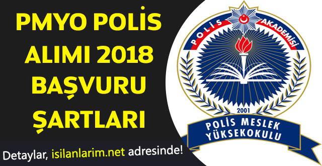 PMYO Polis Alımı 2018 Başvuru Şartları Nelerdir?