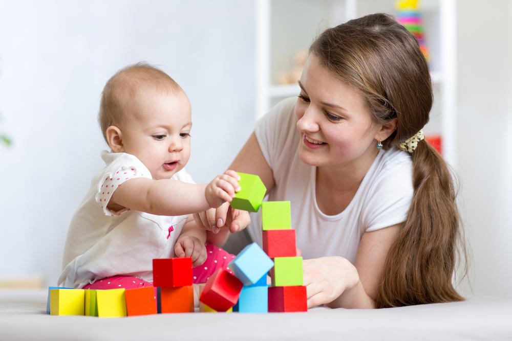 bebek ve bakıcısı