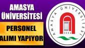 2019 Amasya Üniversitesi Kamu Personel Alımı Şartları ve Tarihleri