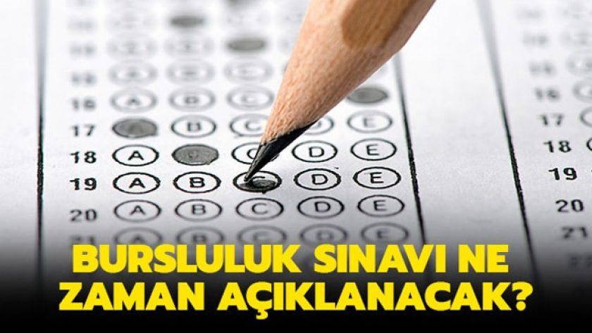 2019 Bursluluk Sınavı Sonuçları Ne Zaman Açıklanacak?